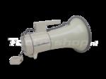 zware megafoon 122 decibel