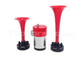 Fiamm M4 TA2 double air horn set. luchthoorn met compressor 12v
