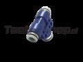 8mm tube to 6mm tube splitterer