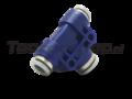 10mm tube to 8mm tube splitter